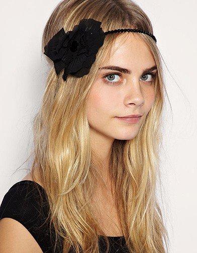 « C' dans l'Hair => Comme Vanessa Hudgens coiffe toi avec un bandeau voila mon astuce  »