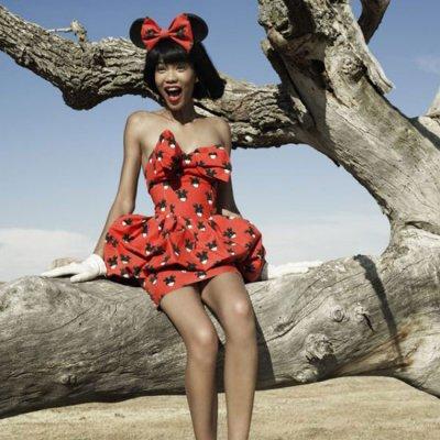 I wanna be Minnie Mouse !