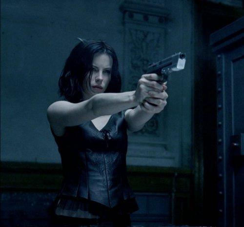 She's got a gun !
