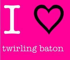 Twirling baton plus qu'un sport une passion <3