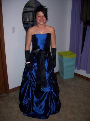 moi avec ma robe pour le bal de promo margaux live in usa. Black Bedroom Furniture Sets. Home Design Ideas