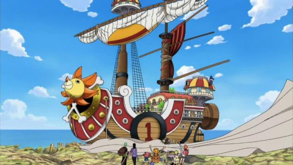 Les navires des mugiwaras