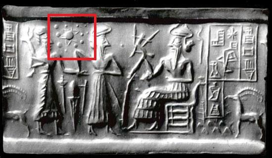 Le sceau-cylindre akkadien (2 500 avant J.C.)