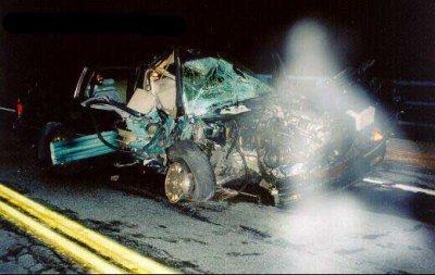 Accident de voiture.. oui mais ...