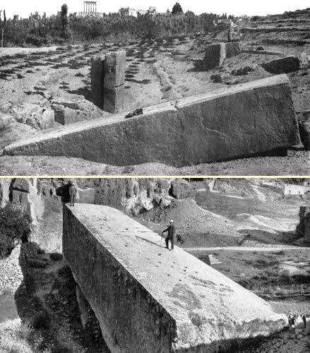 La terrasse de Baalbek