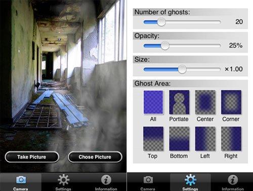 GhostCam: Insérez un fantôme dans vos photos…