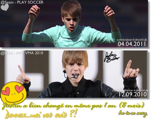 Bieber Changement !!!