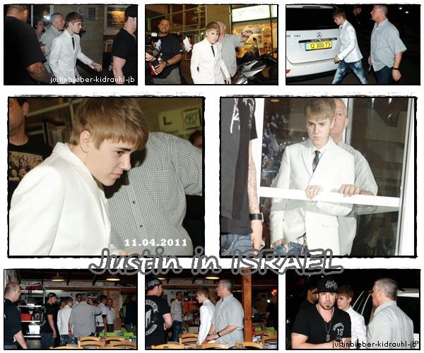 11.04.2011 - Justin @israel