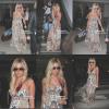 23/03/12 Ashley arrive à l'aéroport de LAX à Los Angeles après avoir pris quelque jour de Vacances à Hawai. Très Jolie la robe! & j'adore c'est Ray Ban !