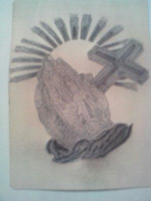 Septieme tattoo sur fausse peau...