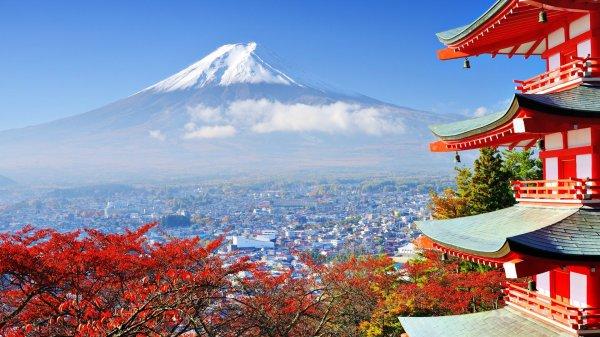 Japon, le pays du soleil levant.
