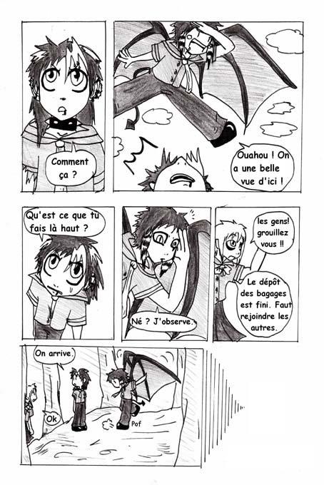 Chapitre 3 : Voyage scolaire p.9 à p.16