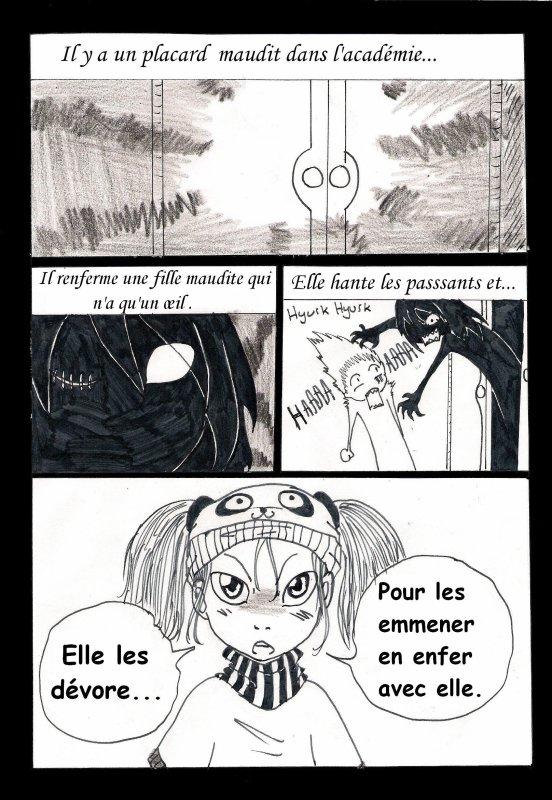 Chapitre 6 : La fille du placard p.1 à 7