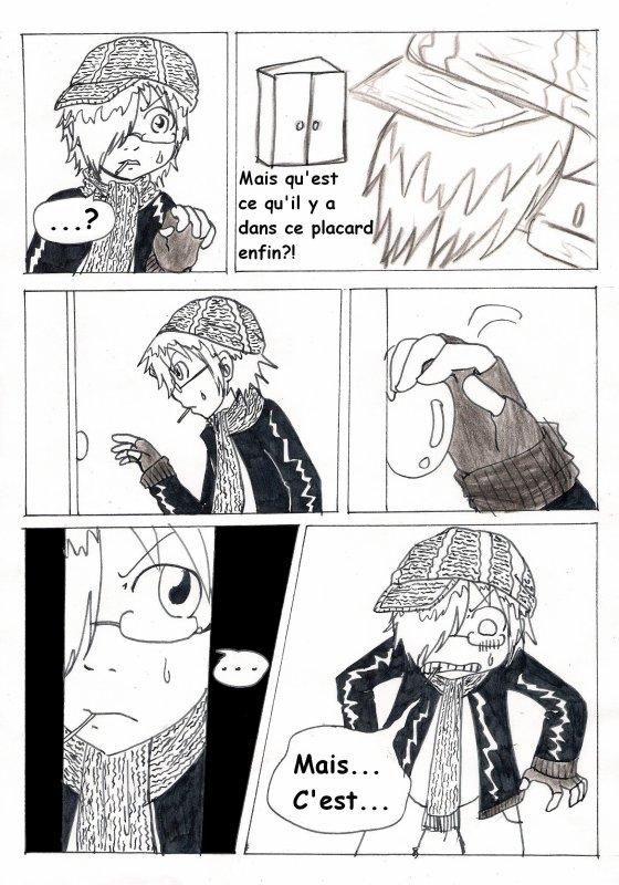 Chapitre 6 : La fille du placard p.16 à 23