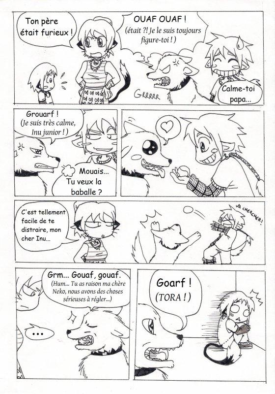 chapitre 7 : Happy friendises p.7 à 14