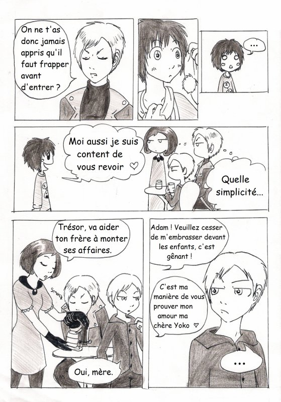 chapitre 7 : Happy friendises p.15 à 22
