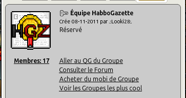 Badge de l'équipe d'HabboGazette