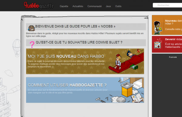« Return of HabboGazette » : HabboGazette est de retour !