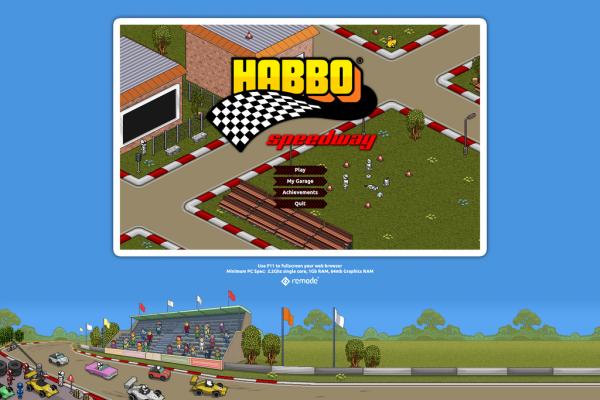 « Habbo Speedway » : Le nouveau Jeu d'Habbo !