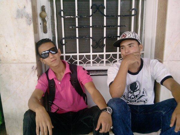 Zouhir + Moi