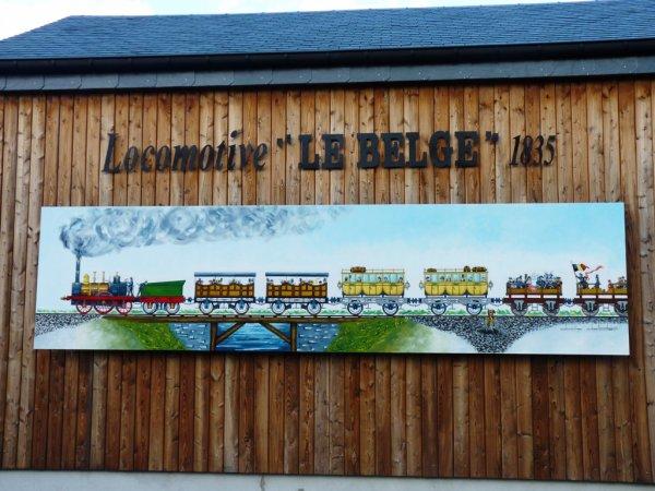 "La locomotive ""Le Belge"""