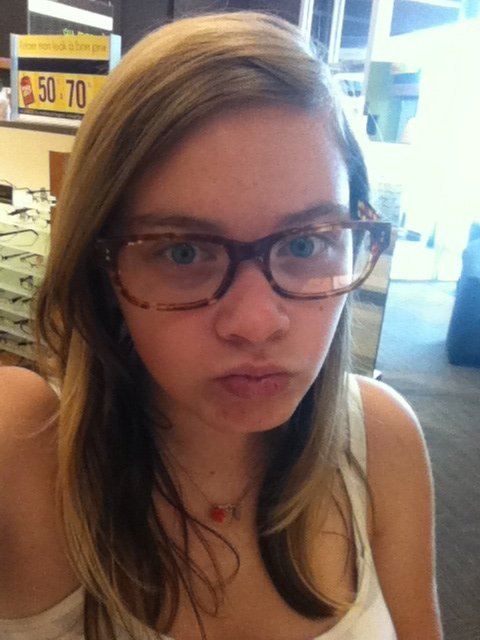 Ahah au magasin de lunette