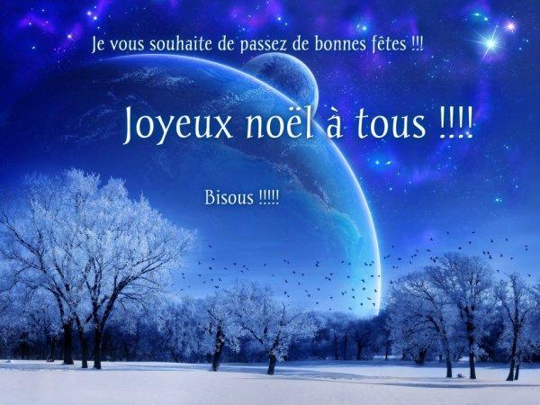 Bonne fêtes à tous !!!