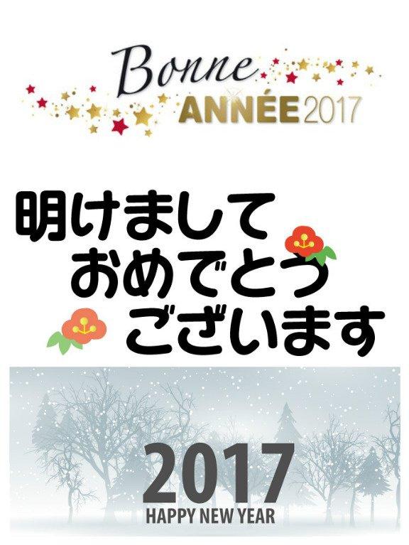 Bonne année 2017 !!!