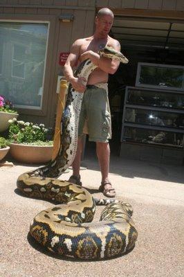 bryan fry l homme au reptil