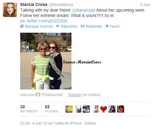 Tweet de Marcia