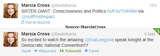 Tweets de Marcia