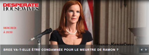 2 semaines avant la fin de la diffusion de Desperate Housewives sur m6