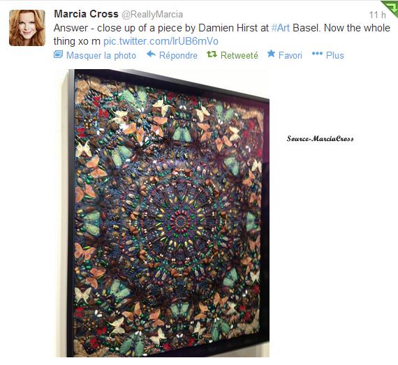 Tweet de Marcia du 5 novembre