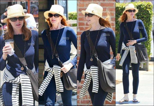 . Photos: Marcia vue à Venice (Californie) le 29 mai  allant à la salle de gym