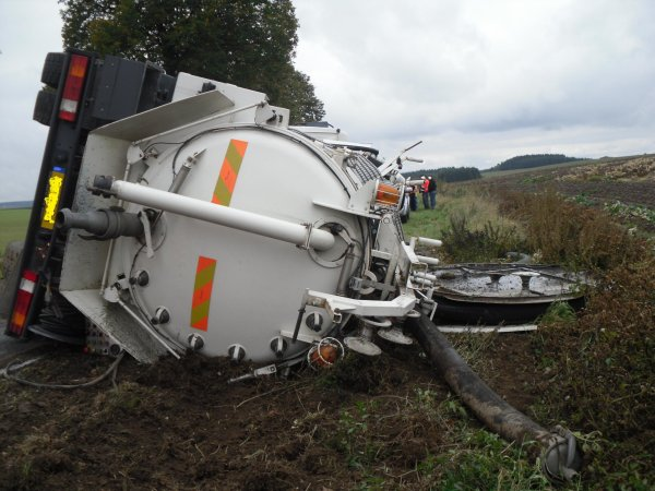 Accident de camion le 27 septembre 2010