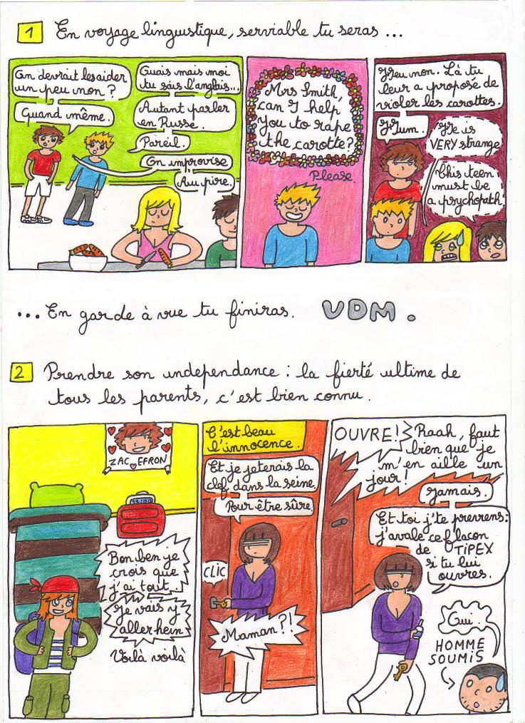 Hors série spécial VDM & résumé de la journée facebook . (2 en 1, comme les shampoings, tout à fait) .