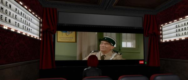 petite Séance au Cinéma avec les gendarmes ^^