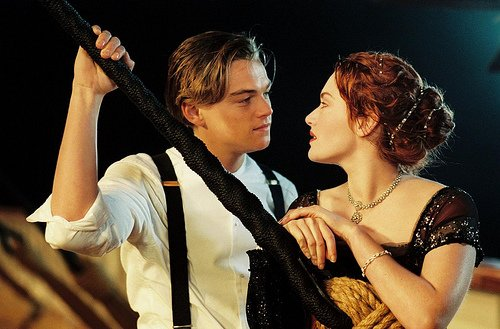 Titanic > I am the king of the world!