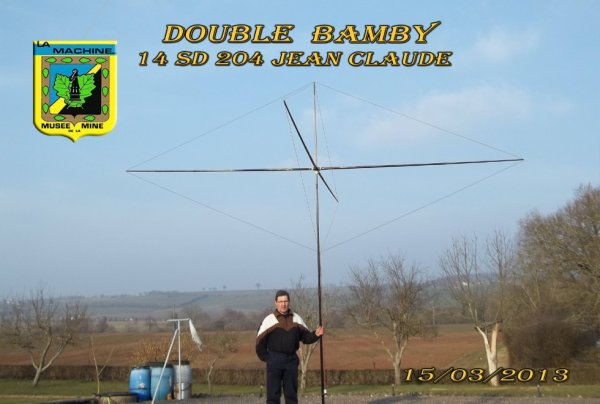 DOUBLE  BAMBY  DE 14SD204 JEAN CLAUDE