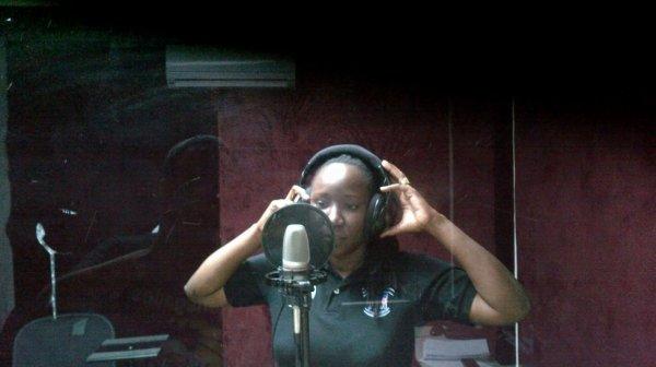 Studio time :)