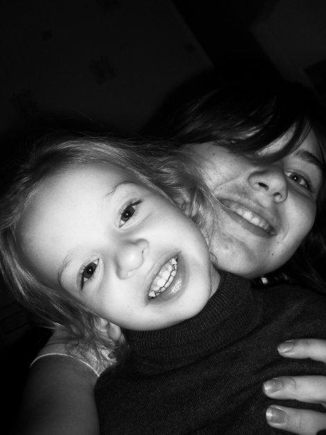 ma filleule  et ma fille estelle !!