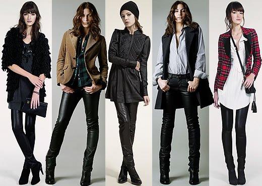 La mode cet hiver