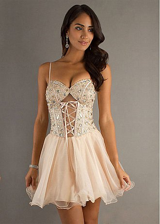 f5dad5911b4 Show Off Your Curves in a Corset Homecoming Dress - DressilyMe Blog