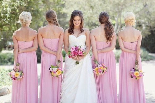 What to Wear to a Spring Wedding: Four Bridesmaid Dresses ...