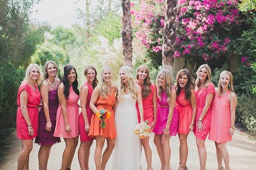 Bridesmaid Dresses Colors For Summer Wedding