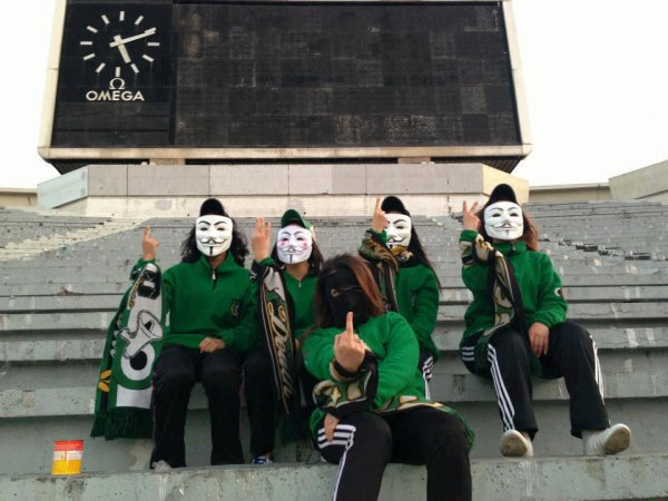 Les filles ont aussi le droit à Ultras ;))))