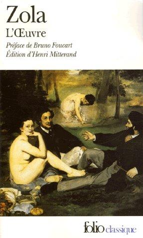 . L'Oeuvre, Emile Zola .