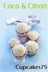 Citron & coco Cupcakes