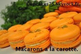 Macaron à la carotte.