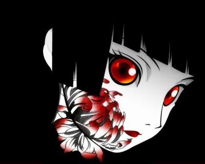 La fille des enfer...